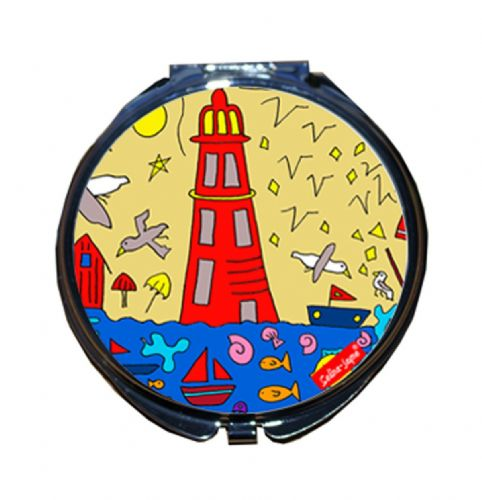 Selina-Jayne British Seaside Limited Edition Compact Mirror